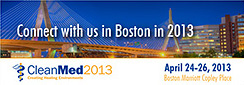 CleanMed 2013, April 24-26, Boston, MA